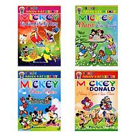 Tô Màu Nhân Vật Mickey (4 Quyển)
