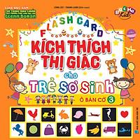 Flashcard Dạy Trẻ Theo Phương Pháp Glenn Doman - Kích Thích Thị Giác Cho Trẻ Sơ Sinh 3 - Ô Bàn Cờ