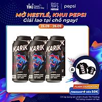 Lốc 6 Lon Nước Uống Có Gaz Pepsi Không Calo (320ml/Lon)