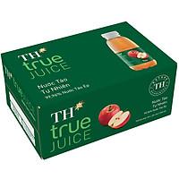 Thùng 24 Chai Nước Trái Cây TH True Juice Táo Tự Nhiên 350ml (350mlx24)