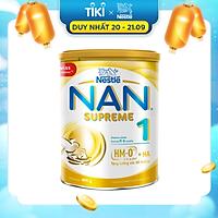 Sản phẩm dinh dưỡng công thức Nestlé NAN SUPREME  1 lon 400g (CÔNG THỨC BỔ SUNG 2HM-O)
