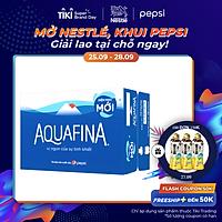 Thùng 24 Chai Nước Uống Aquafina (355ml / Chai)