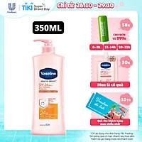 Sữa Dưỡng Thể 350Ml Vaseline Dưỡng Ẩm Sáng Da Chống Nắng Spf24Pa++ Sun + Pollution Protection Bảo Vệ Da Tới 4H Với Spf 24 Pa++