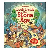 Sách tương tác tiếng Anh - Usborne Look inside Stone Age