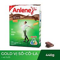 Sữa Bột Anlene Gold Movepro Hương Chocolate (Hộp Giấy 440g)