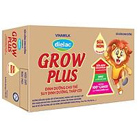Thùng 48 Hộp Sữa Bột Pha Sẵn Vinamilk Dielac Grow Plus - Đỏ 180ml