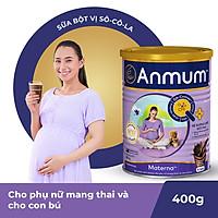 Sữa Bột Dành Cho Mẹ Bầu Anmum Materna Hương Chocolate 400g