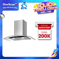 Máy Hút Mùi Kính Cong BlueStone HOB-8733 230W - Hàng chính hãng