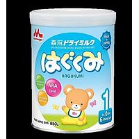 3 Hộp Sữa Bột Morinaga Hagukumi Dành cho trẻ  Số 1 (850g)