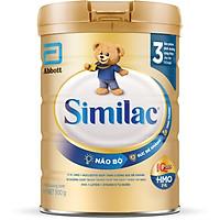 Sữa Bột Cho Bé Similac Eye-Q 3 HMO 900g Gold Label