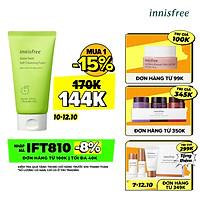 Sữa rửa mặt làm sạch sâu Innisfree Apple Seed Soft Cleansing Foam 131171066 (150g)