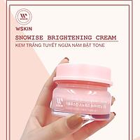 Kem Dưỡng Trắng Da Bật Tông, Ngừa Nám, Kiềm Dầu, Chống Trôi, Chống Lão Hóa Da, 5 in 1 - Snowise Brightening Cream