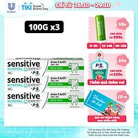 Combo 3 Kem Đánh Răng Sensitive Expert By P/S Fresh Mint Bạc Hà Thơm Mát 100g