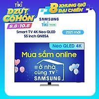 Smart Tivi Neo QLED Samsung 4K 55 inch QA55QN85A Mới 2021