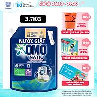 Nước giặt Túi 3.7kg OMO Matic Cho máy giặt cửa trước Cửa Trước Lavender Thư Thái Khử Mùi hương thơm Lavender