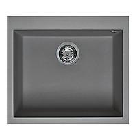 Chậu Rửa Đá Granite Nano Malloca TITANIUM K-10573 - Xám