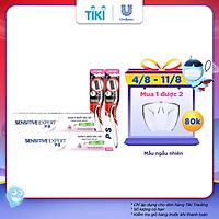 Combo 2 Kem Đánh Răng P/S Chuyên Gia Giảm Ê Buốt Thơm Mát (100g/tuýp) + Bàn Chải Đánh Răng Than Hoạt Tính Bộ 2