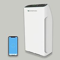 Máy lọc không khí, khử mùi, UV diệt khuẩn, tạo ion âm, kết nối Wifi BOHMANN B502 (Diện tích đến 60m2) - Hàng chính hãng