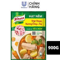 Hạt nêm Knorr Thịt Thăn, Xương Ống Và Tuỷ 900g với nguồn xương thịt heo chuẩn VietGAP giúp món ăn tròn vị ngon