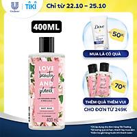 Sữa Tắm 400Ml Love Beauty And Planet Làm Sáng Da Majestic Glow Với 100% Tinh Dầu Hoa Hồng Bulgaria