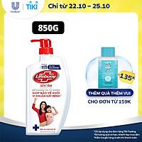 Sữa tắm 850g Lifebuoy Sạch khuẩn Bảo vệ khỏi 99.9% vi khuẩn gây bệnh tốt nhất Bảo vệ vượt trội 10 Mạnh mẽ với thành phần chứa ion Bạc+ hỗ trợ cùng đề kháng da tự nhiên