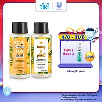Combo Dầu Gội Xả LBP Dưỡng Tóc Chắc Khỏe Bồng Bềnh Với 100% Dừa Tươi Và Hoa Mimosa