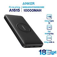 Pin Sạc Dự Phòng Không Dây Anker Wireless PowerCore 10000 mAh - A1615 - Hàng Chính Hãng