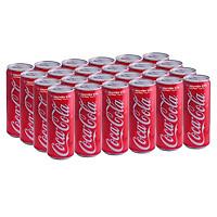 Thùng 24 Lon Nước Giải Khát Coca-Cola vị Nguyên Bản Original 320mlx24