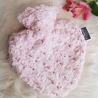 Túi chườm nóng lạnh Fashy nhập khẩu 100% từ Đức, tiêu chuẩn chất lượng Châu Âu giúp ngủ ngon, giảm đau, hạ sốt tự nhiên, thiết kế thời trang hình trái tim hoa hồng