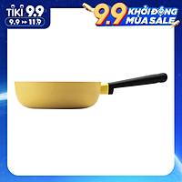 Chảo Sâu Lòng Decor Lock&Lock LDE1225IH (22cm) - Màu Vàng