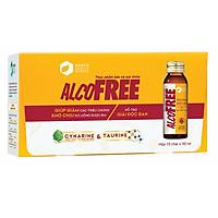 Thực Phẩm Chức Năng Mát Gan Giải Rượu Phục Hồi Sức Khỏe AlcoFree RMV-FF-AF10 (Hộp 10 Chai x 50ml)