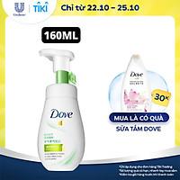 Sữa rửa mặt bọt mịn 160ml Dove sạch sâu cho da dầu kiềm dầu & se khít lỗ chân lông Serum tốt