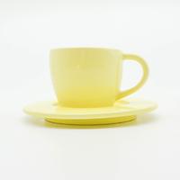 Bộ Ly Cà-Phê Morning 02 + Dĩa Lót - Màu Pastel