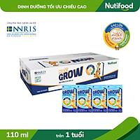 Thùng 48 hộp Sữa Bột Pha Sẵn NUVI GROW 110ml
