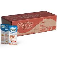 Thùng 24 Hộp Sữa Tươi Tiệt Trùng Giàu Canxi Meadow Fresh (200ml / Hộp)