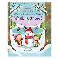 Sách tương tác tiếng Anh - Usborne Lift-The-Flap Very First Questions And Answers: What Is Snow?