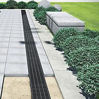 Cống thoát nước lắp ghép [HAURATON-TOPX] : Hiệu suất tối ưu, Thẩm mỹ, bền vững, chuyên dụng dành cho dân dụng & sân vườn, 2 lựa chọn nắp cống: