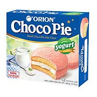 Bánh Orion Chocopie Sữa Chua Yogurt (12 bánh x 30g)