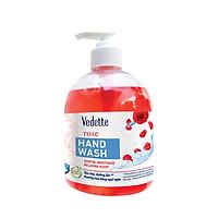 Nước rửa tay Vedette hoa hồng 500ml