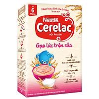 Bột Ăn Dặm Nestlé Cerelac - Gạo Lức Trộn Sữa (200g)