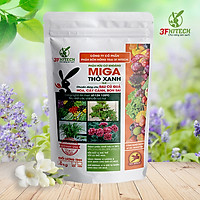 Phân hữu cơ cho chuyên hoa, cây cảnh - Thỏ Xanh MIGA (1kg)