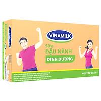 Thùng 48 Hộp Sữa Đậu Nành Vinamilk Nguyên Chất (200ml)