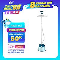 Bàn Ủi Hơi Nước Đứng Philips GC518 (1600W) - Xanh Ngọc - Hàng chính hãng