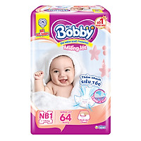 Miếng Lót Sơ Sinh Bobby Fresh Newborn 1 - 64 (64 Miếng)