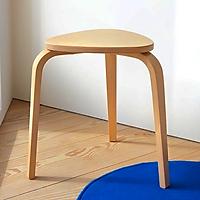 Ghế đôn, Ghế đẩu Ghế cafe, Ghế Trang trí Gỗ uốn cong Quata Chair - Plywood cao su, Sơn gốc nước an toàn.