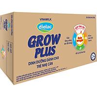 Thùng 48 Hộp Sữa Bột Pha Sẵn Vinamilk Dielac Grow Plus - Xanh 110ml
