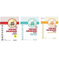 Combo Sách Tiếng Nhật Dành Cho Mọi Người - Sơ Cấp 1: Bản Tiếng Nhật + Bản Dịch Và Ngữ Pháp - Tiếng Việt + Tổng Hợp Các Bài Tập Chủ Điểm (Bộ Minna no Nihongo Bán Chạy Nhất Giúp Người Việt Chinh Phục Tiếng Nhật Dễ Dàng / Tặng Kèm Bookmark Happy Life)