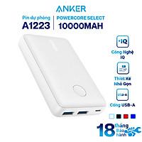 Pin Sạc Dự Phòng Anker PowerCore Select 10000mAh - A1223 - Hàng Chính Hãng