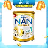 Sản phẩm dinh dưỡng công thức Nestlé NAN SUPREME 1 lon 800g (CÔNG THỨC BỔ SUNG 2HM-O)