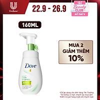 Mousse Rửa Mặt Bọt Mịn Dove Serum Sạch Sâu Tốt Cho Da Dầu - Kiềm Dầu & Se Khít Lỗ Chân Lông 160ml
